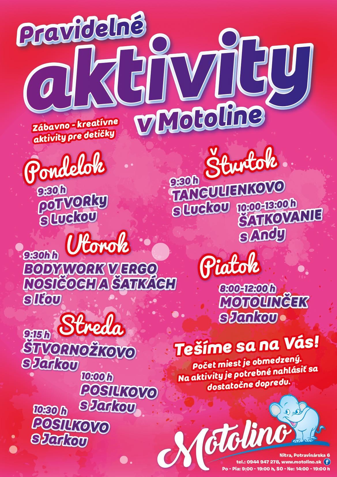 pravidelne aktivity_motolino.sk