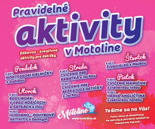 Motolino aktivity FB