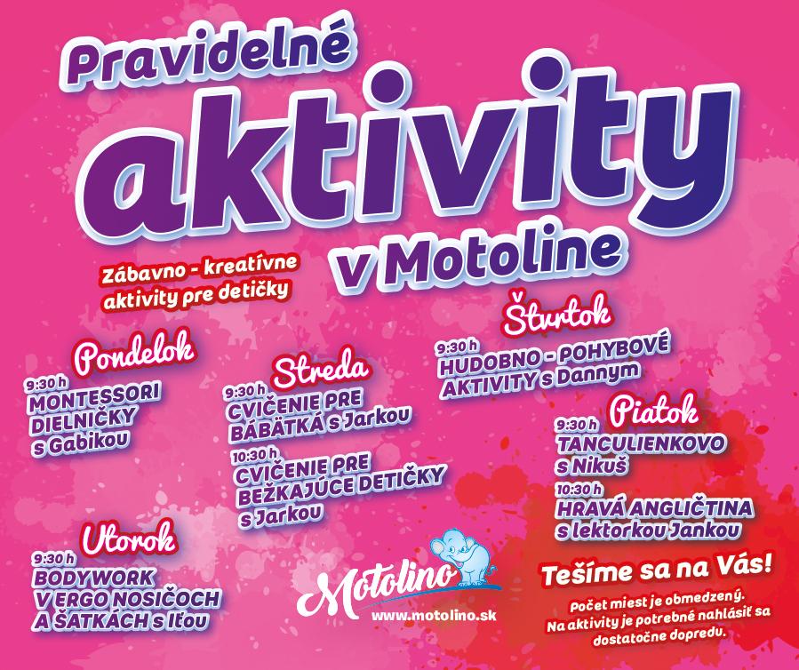 motolino.sk-detské centrum Nitra