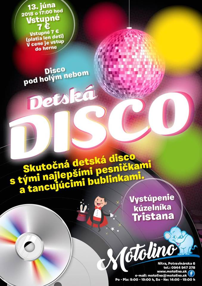 detska disko show_motolino.sk