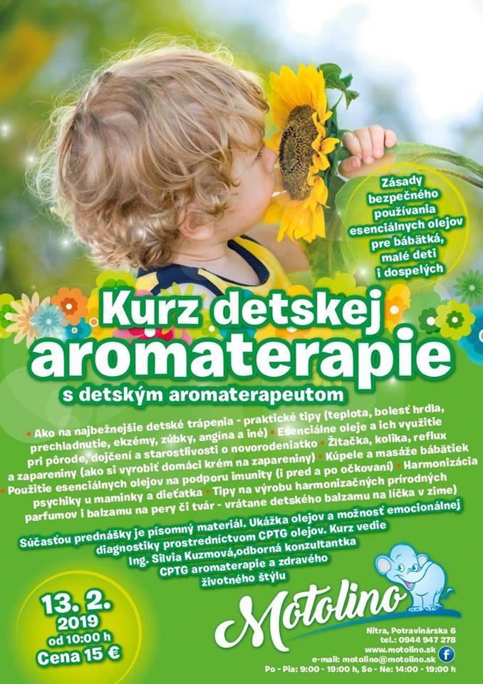 kurz detskej aromaterapie - motolino