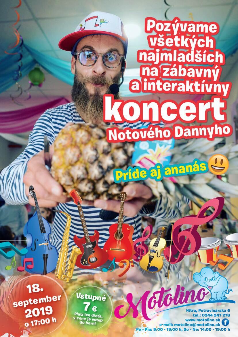 Notovy danny -koncert